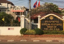 Central bank of Laos